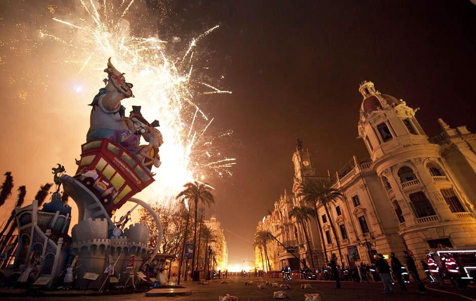 Las Fallas Festival, Valencia (Spain)