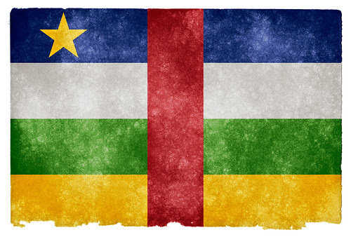Central African Republic Grunge Flag by Free Grunge Textures - www.freestock.ca, on Flickr