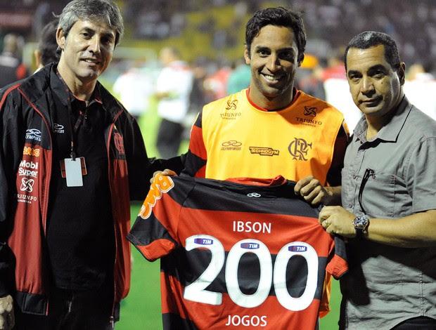 Ibson camisa 200 Flamengo (Foto: Alexandre Vidal / Fla imagem)