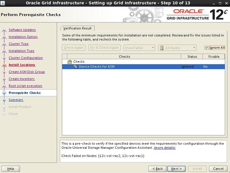 Oracle 12c RAC