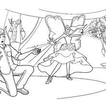 Barbie's friends and princess graciella coloring pages ...