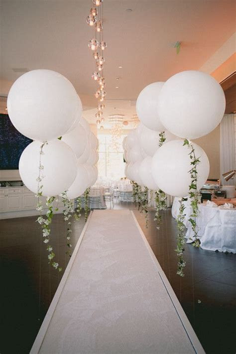 DIY Balloon Garland Engagement Party   Wedding, Engagement