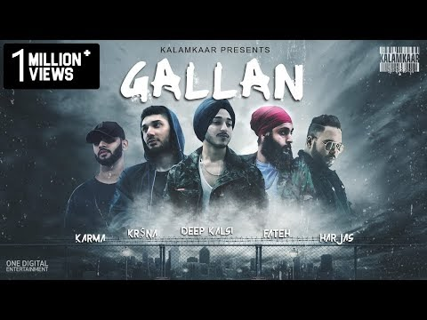 GALLAN LYRICS - KRSNA, DEEP KALSI, HARJAS, KARMA