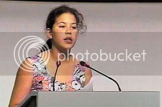 foto saat pidato - usia 12 tahun