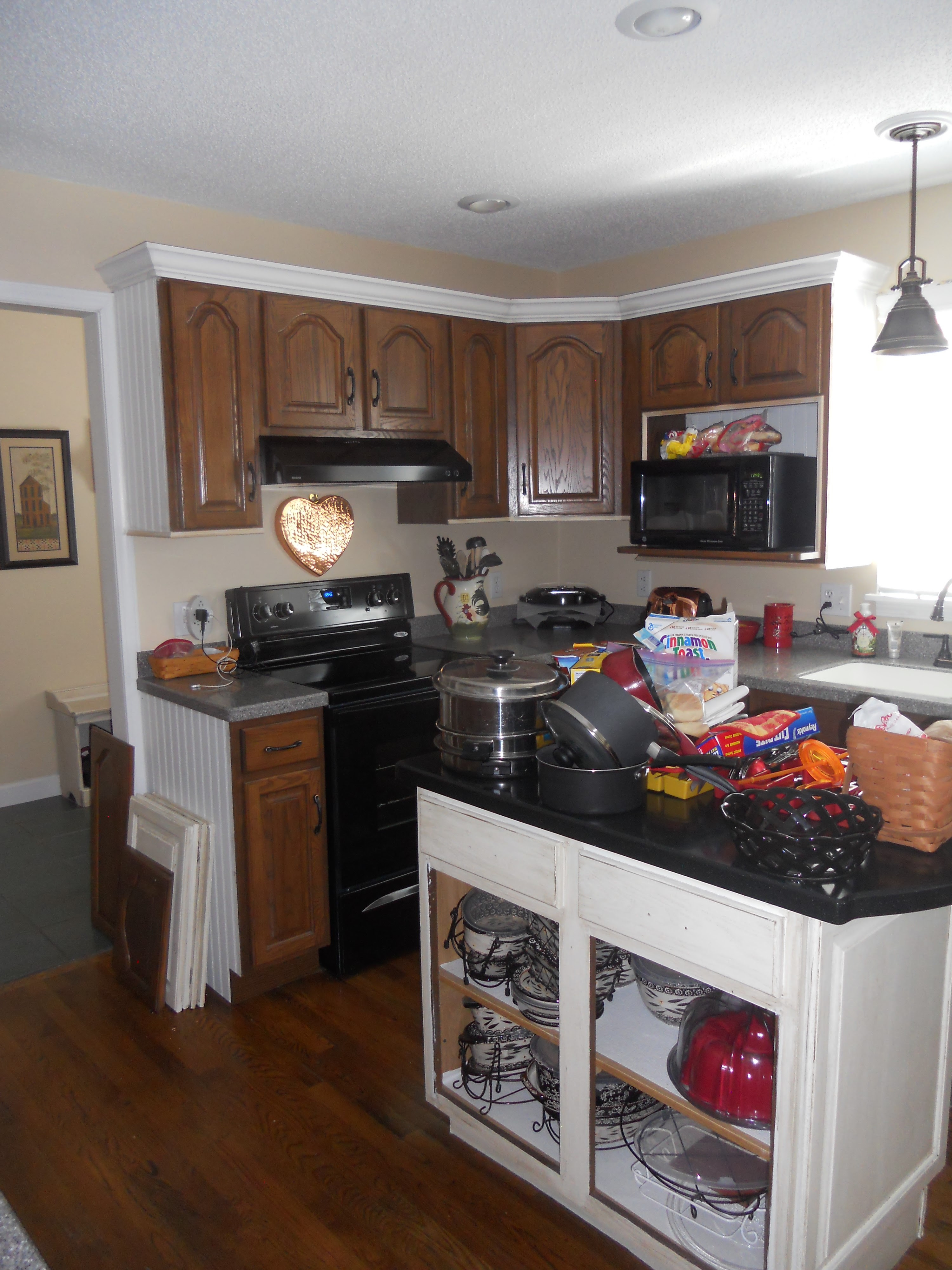 Stephon Beachside Cottage Painted Kitchen Cabinets White ...