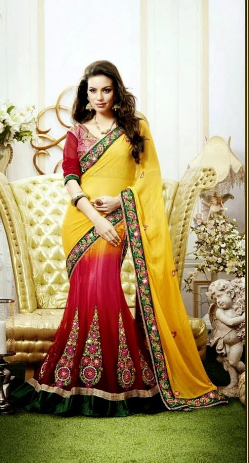 Bridal-Wedding-Rich-Heavy-Embroidered-Sarees-Designs-Lehanga-Style-Fancy-Sari-New-Fashion-10