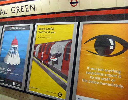 Mad Men Tube Ad - Bethnal Green