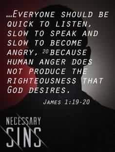 Fabulous Church Quote By James Everyone Should Be Quick To Listen
