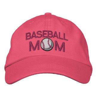 Baseball Mom embroideredhat