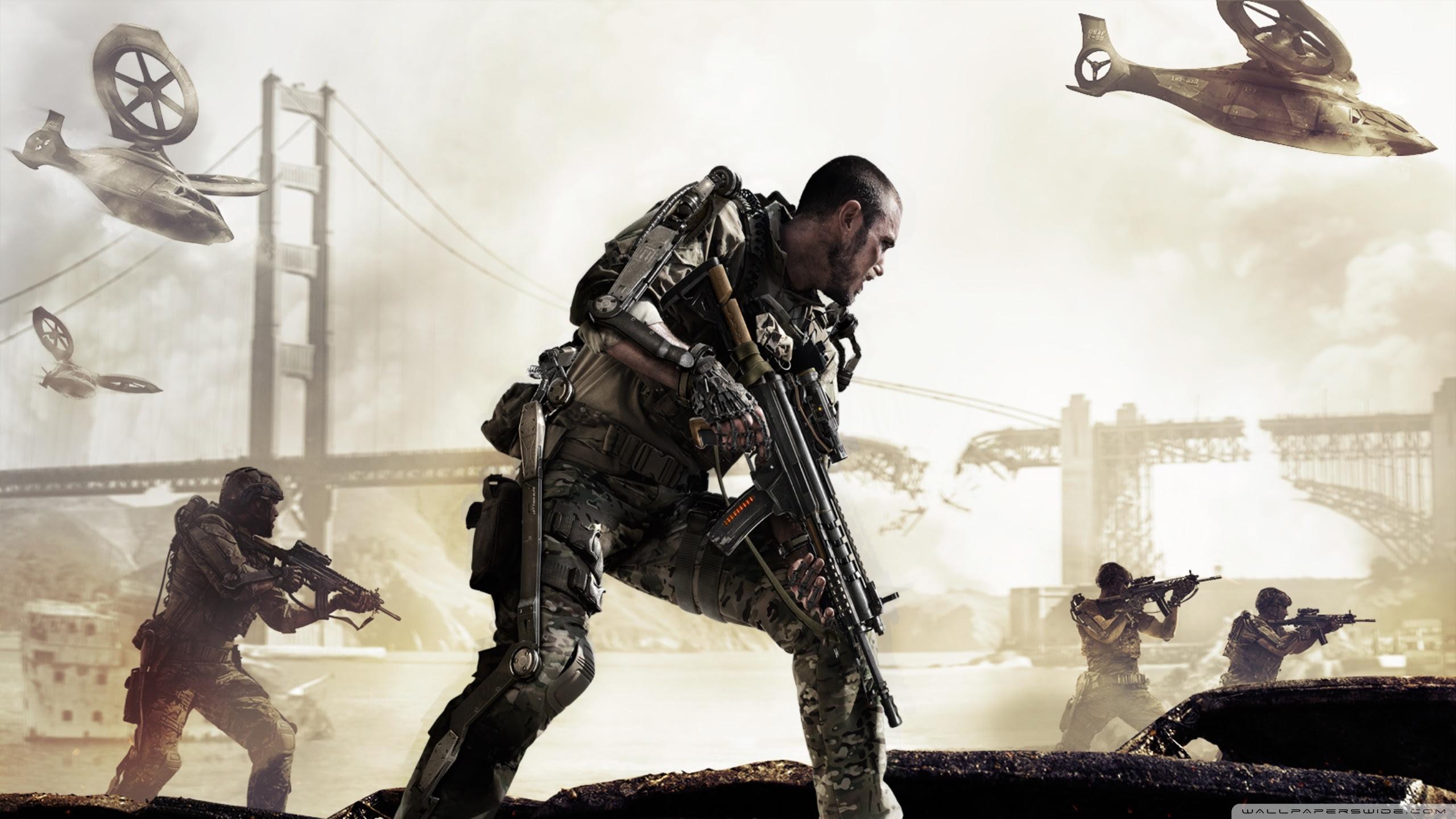 Call Of Duty Advanced Warfare Uhd Desktop Wallpaper For 4k
