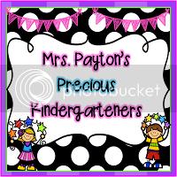 Mrs. Payton's Precious Kindergarteners