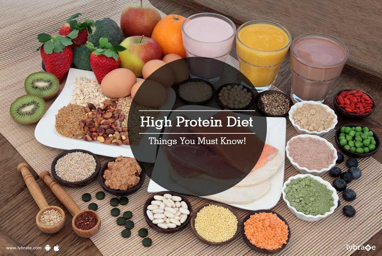 High protein diet - Should you actually eat it?