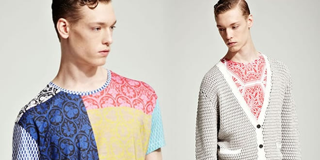 Jonathan Saunders Clothing: SS12 Lookbook