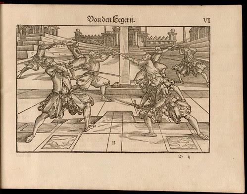 Joachim Meyer - Gründtliche Beschreibung des Fechtens 1570a