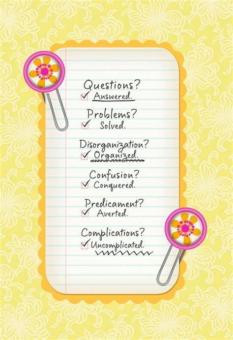 Appreciation Checklist Administrative Professionals Day