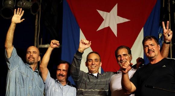 Los Cinco Héroes volvieron a Cuba.
