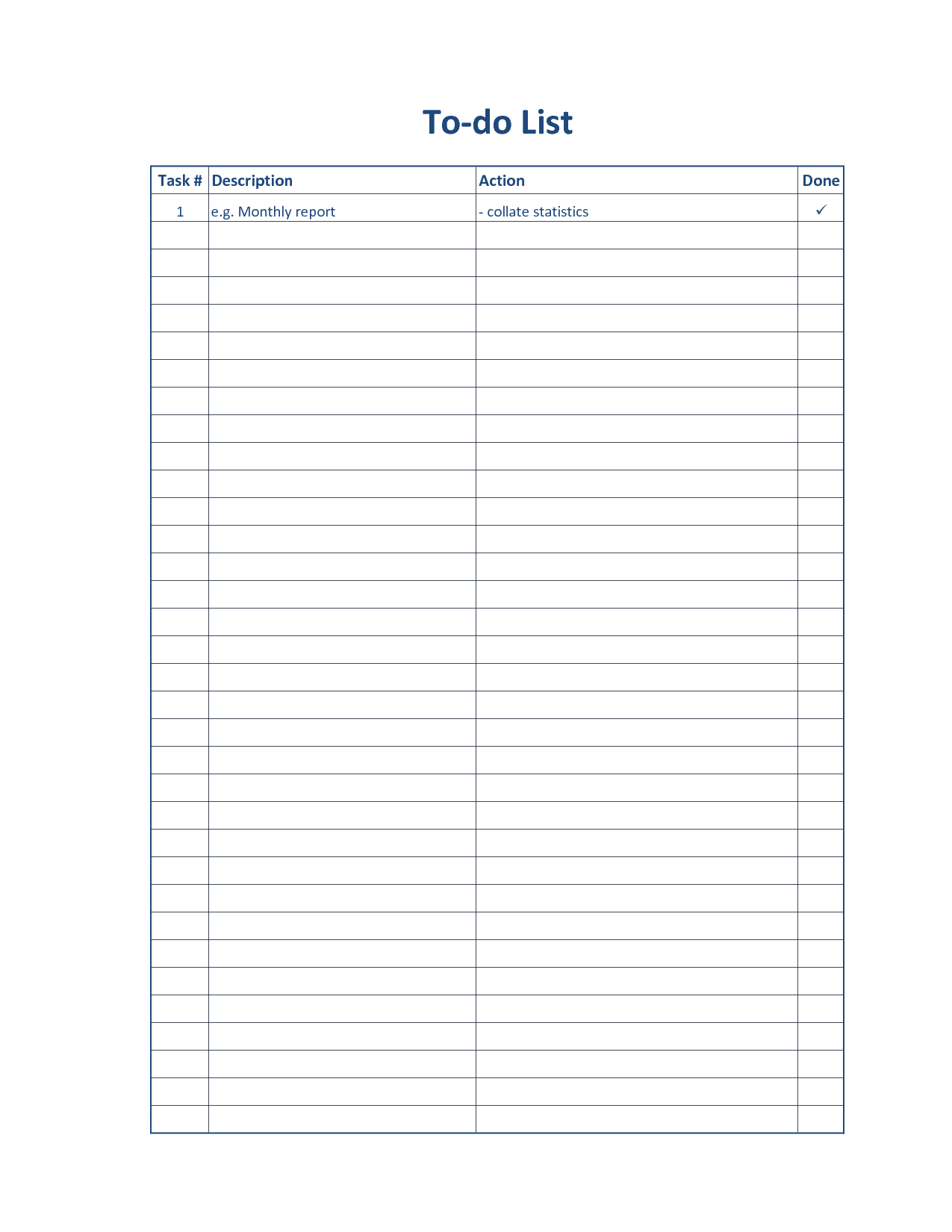 5 best images of free printable daily to do list free printable