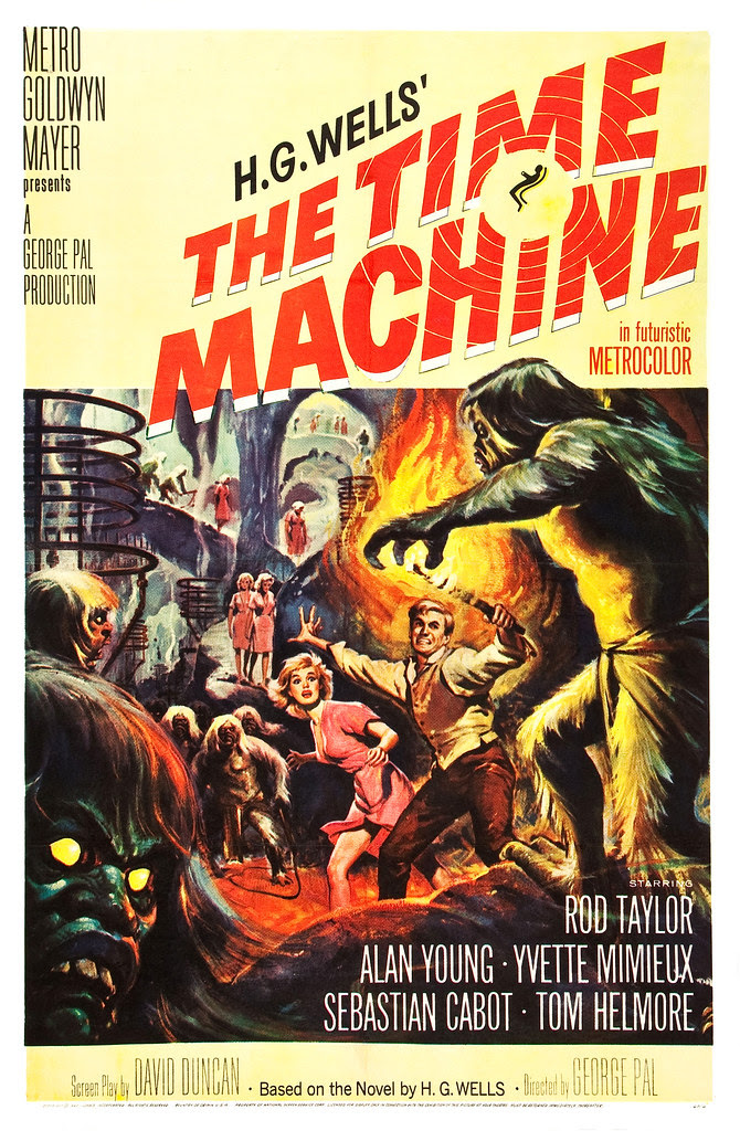Reynold Brown - Time Machine, The (MGM, 1960) poster 1