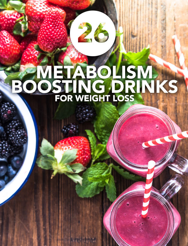 26 Metabolism Boosting Drinks for Weight Loss | Detox DIY