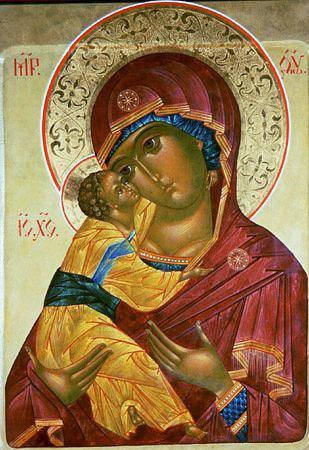 Vladimir εικόνα της Μητέρας του Θεού
