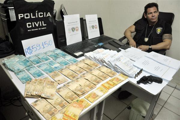 De acordo com a defesa da tabeliã, dinheiro encontrado na casa dela seria parte dos salários