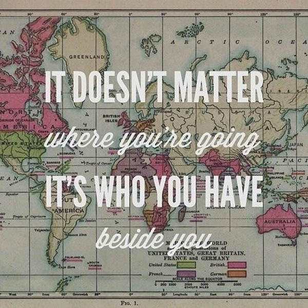Quotes About Who You Travel With 34 Quotes