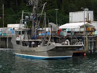 Pacific Horizon at Alaska Glacier Seafoods