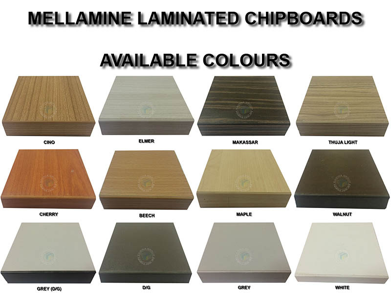 chipboard colors