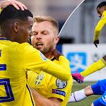 TV: Alexander Isak tvåmålsskytt - Sverige krossade Färöa...