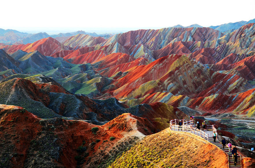 cool-unbelievable-places-Earth-Gansu-China