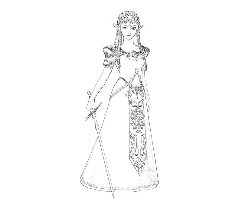 53 Dessins De Coloriage Zelda à Imprimer Sur Laguerchecom Page 5