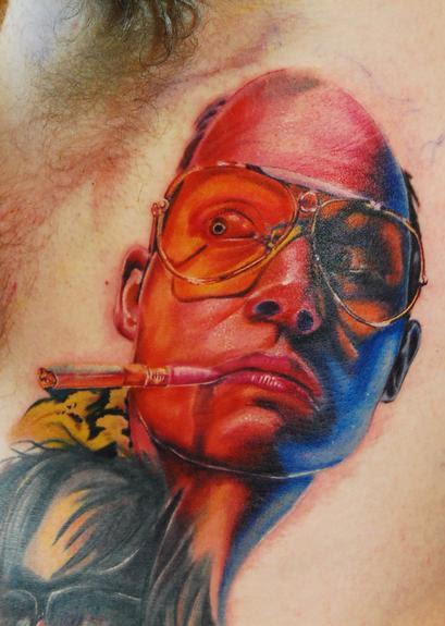 Fear And Loathing In Las Vegas By Justin Buduo Tattoonow