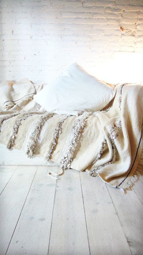 Image of Handira - Vintage Moroccan Wedding Blanket