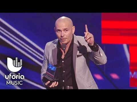 Pitbull gana mejor artista en premios juventud 2015