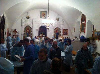 Hospital inside the St. Mikhailivskiy Cathedral |PR News