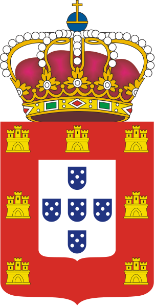 Archivo:Coat of Arms Kingdom of Portugal (1830).svg