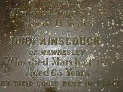 John Ainscough d.1885
