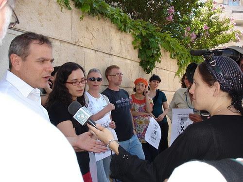 MK Nitzan Horowitz speaks to journalist