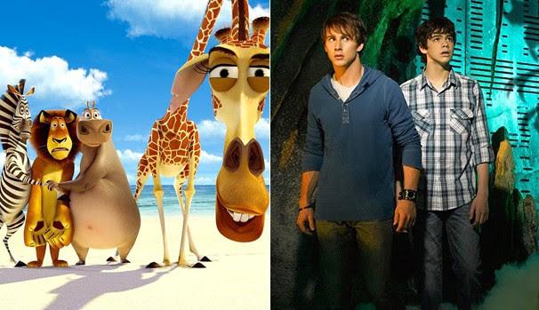 Globo exibe 'Madagascar' (2005) e 'Skyrunners' (2009) neste sábado, dia 1º (Foto: Divulgação/Reprodução)