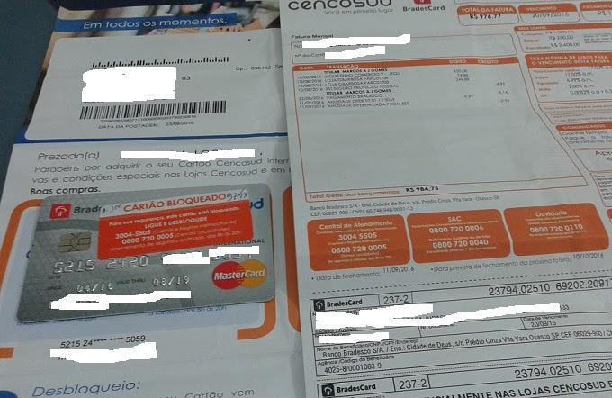 Antes de estar na mão do dono e ser bloqueado compras foram efetuadas com o mesmo cartão