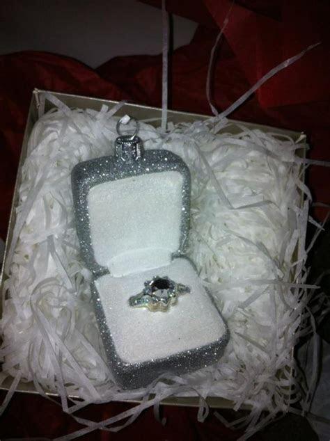 Engagement Ring Christmas Ornament   Weddingbee Photo Gallery