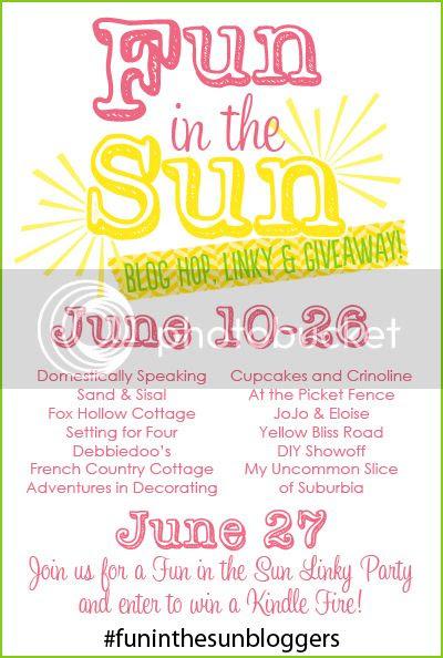 Fun In The Sun Blog Hop Summer Craft DIY