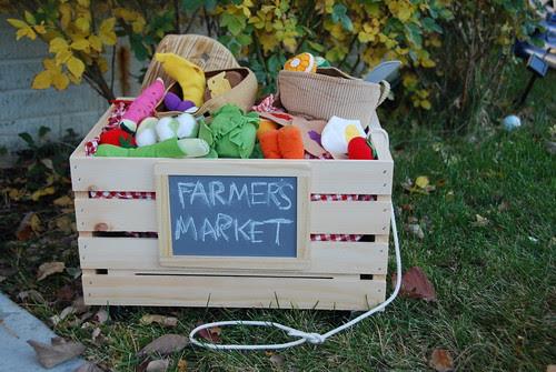 homemade farmers market toy