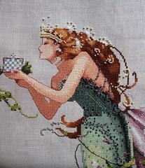 Queen Mermaid, face as of 1/12/10
