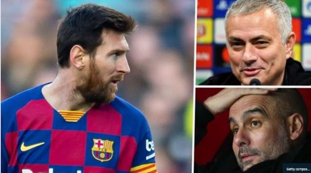 Jose Mourinho Mocks Man City's Plans To Sign Lionel Messi (See What He Said)