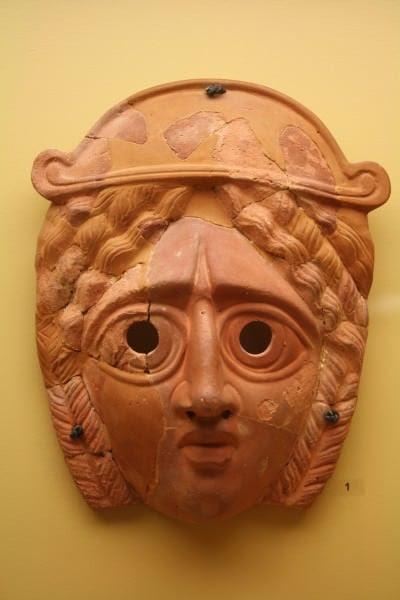 Greek Tragedy Mask