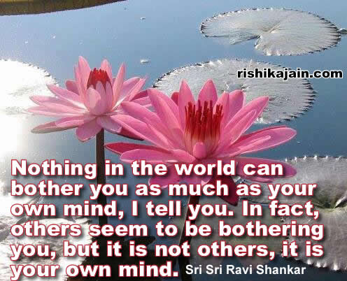 Sri Sri Ravi Shankar Inspirational Quotes Pictures