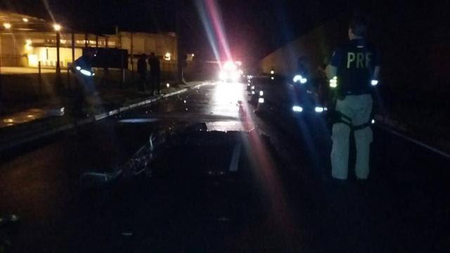 Ciclista morre em colisão na BR-116, em Pelotas PRF/Divulgação