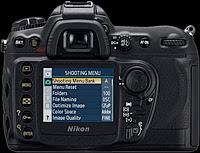 Nikon D200 back