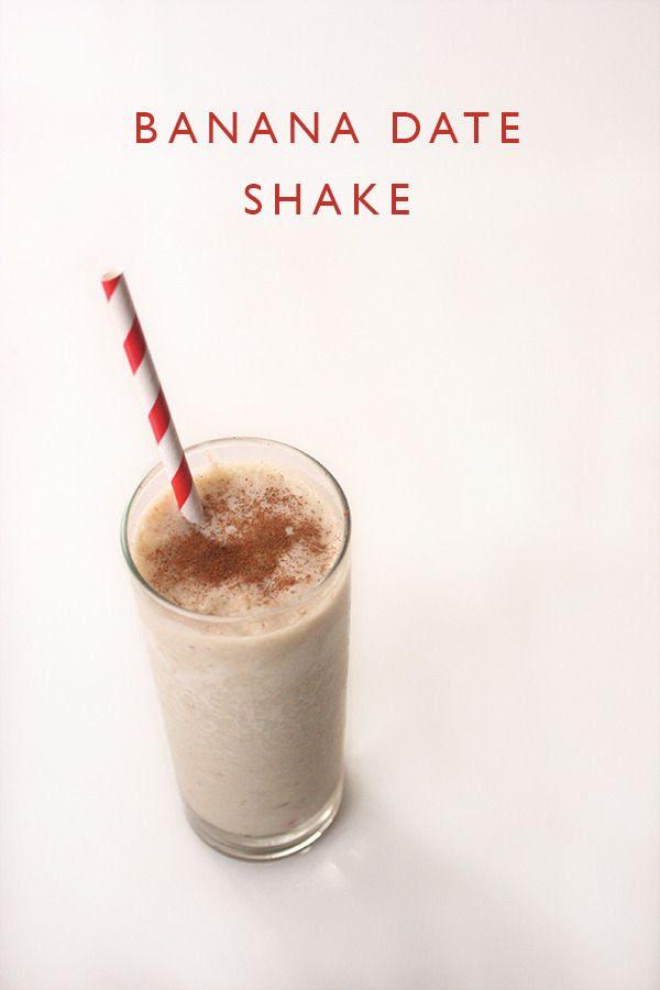 CeciBean: Banana Date Shake with a2 Milk®